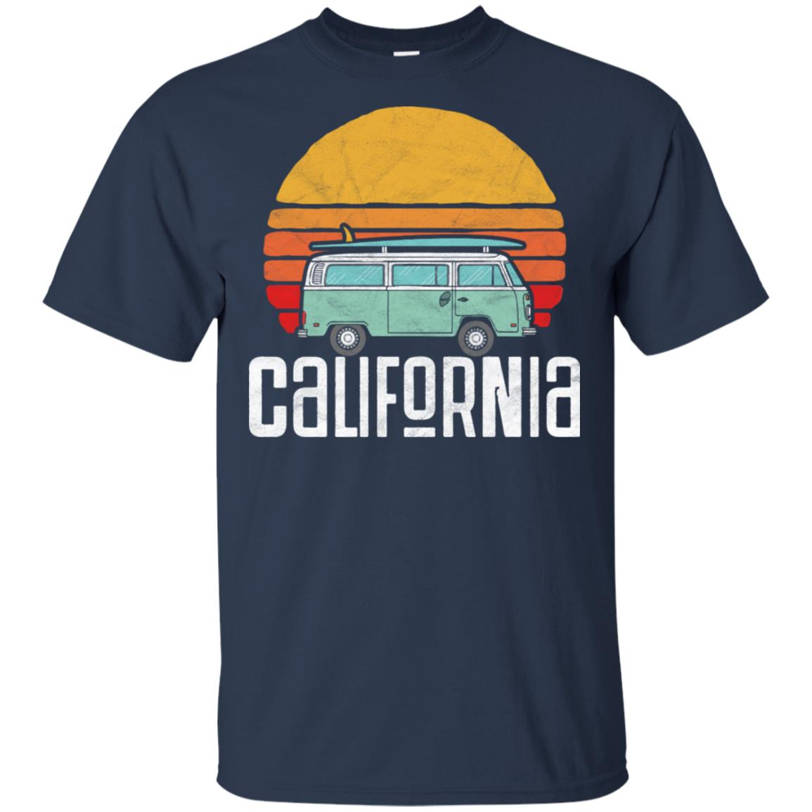 Retro California Hippie Van Beach Bum Surfer Tee Unisex Short Sleeve