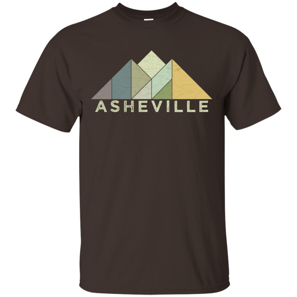 Retro Asheville Nc Vintage Mountains Unisex Short Sleeve