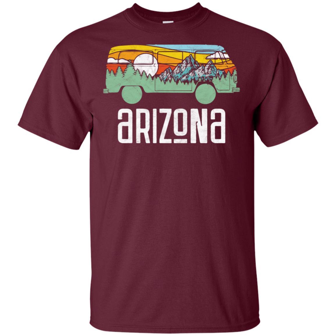 Retro Arizona Outdoor Hippie Van Nature Design T Unisex Short Sleeve