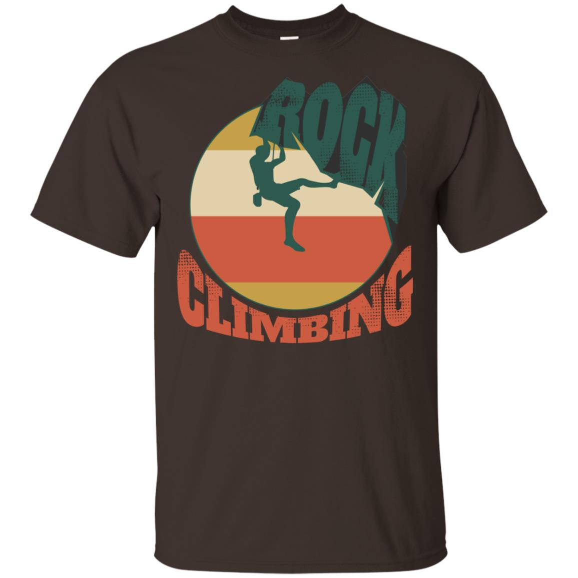 Rock Climbing Bouldering Climbers Hiking Unisex Short Sleeve
