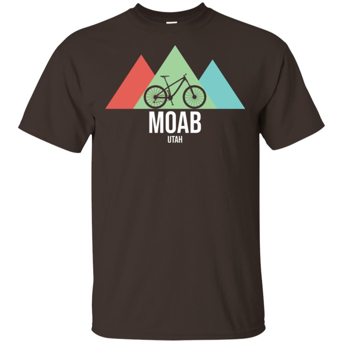 Retro Vintage Bike Moab Utah Mountain Biking Unisex Short Sleeve