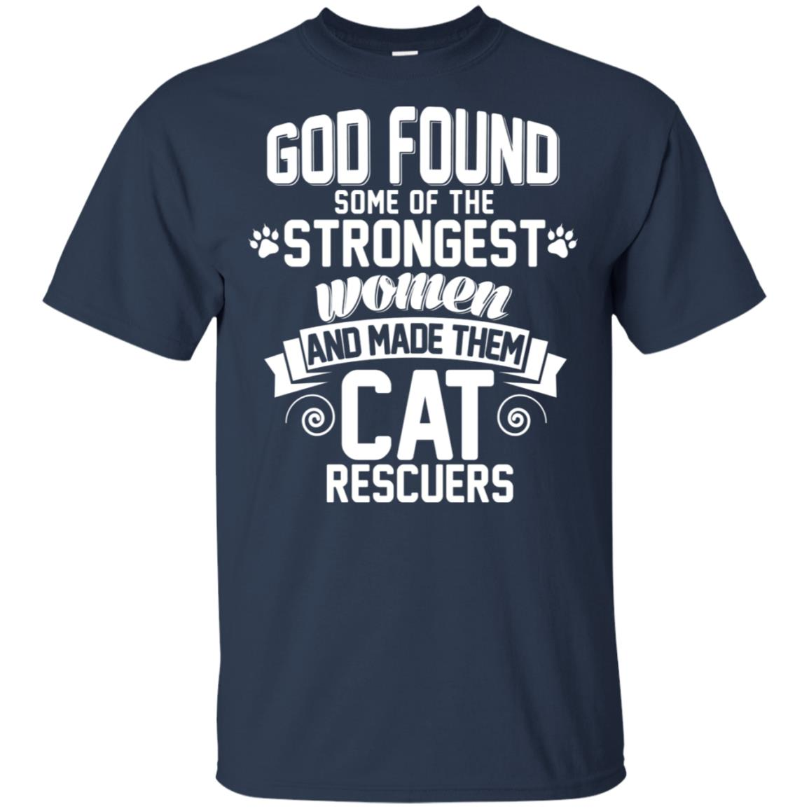 Strongest Cat Rescuers -Tee For Gift Unisex Short Sleeve