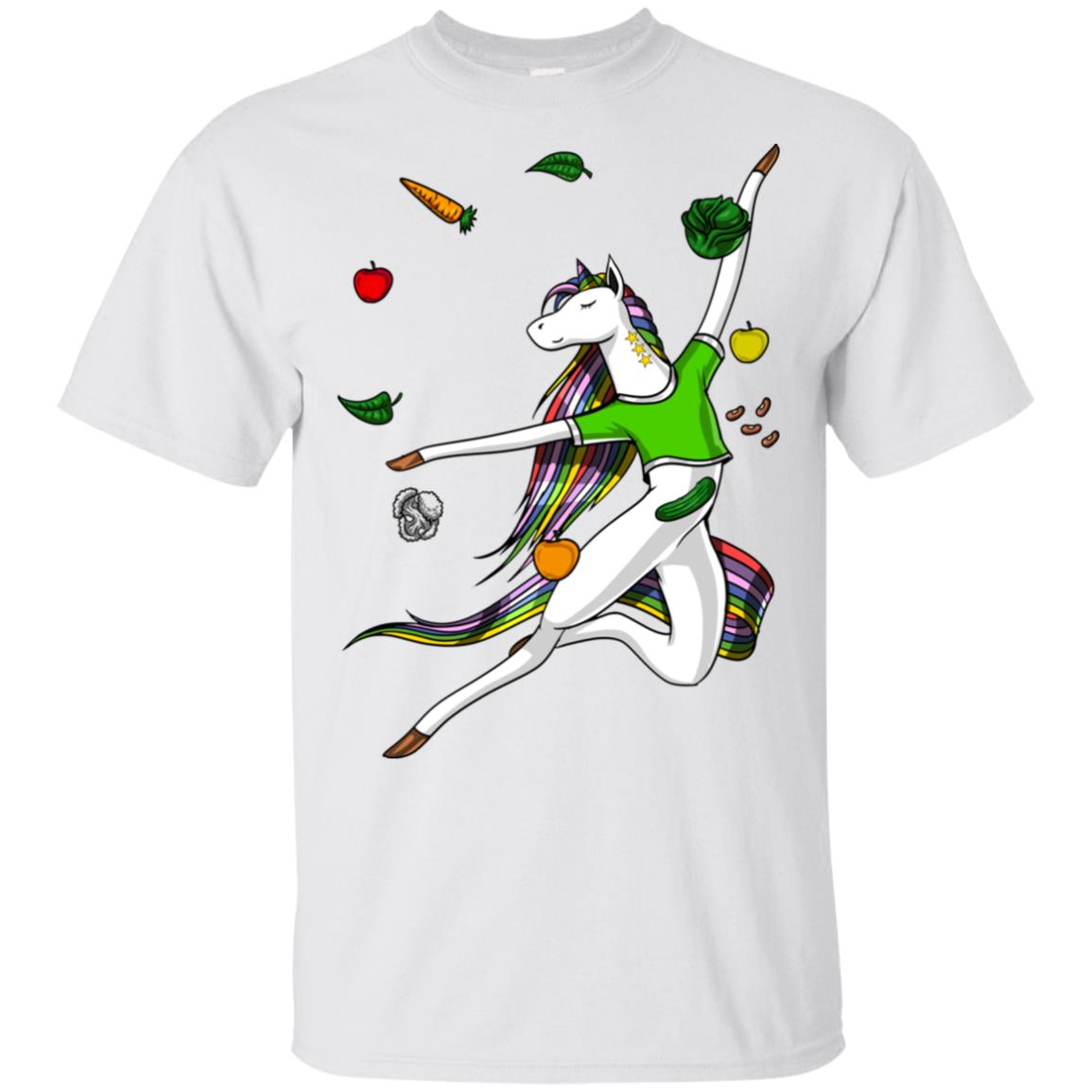 Unicorn Vegan Dance Vegetarian Vegetables Unisex Short Sleeve