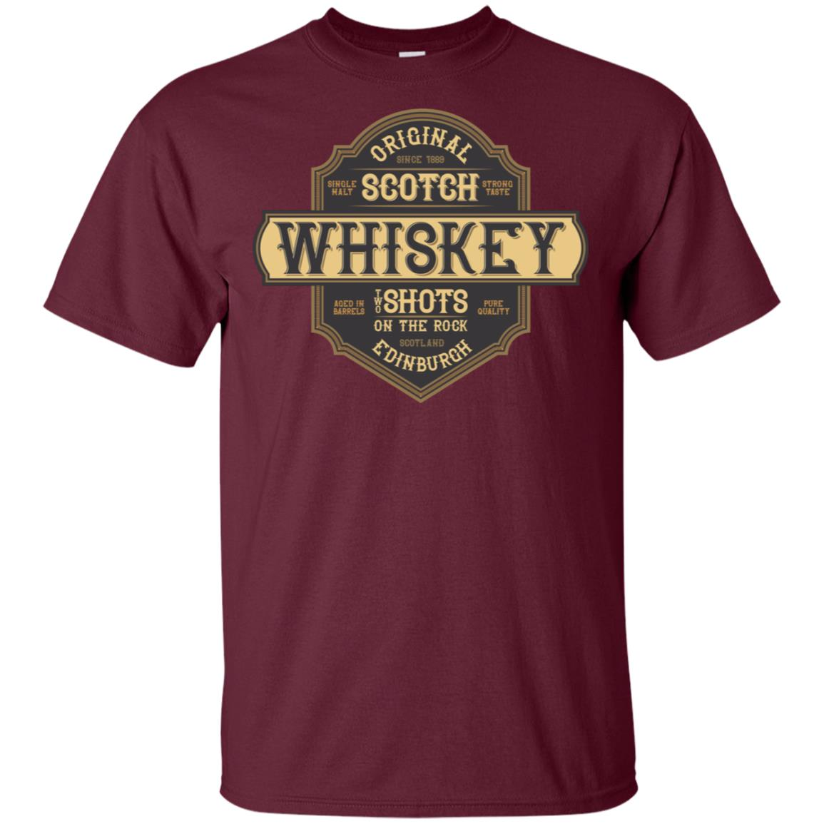 Old Time Scotch Drinkers Whisky Lovers Unisex Short Sleeve