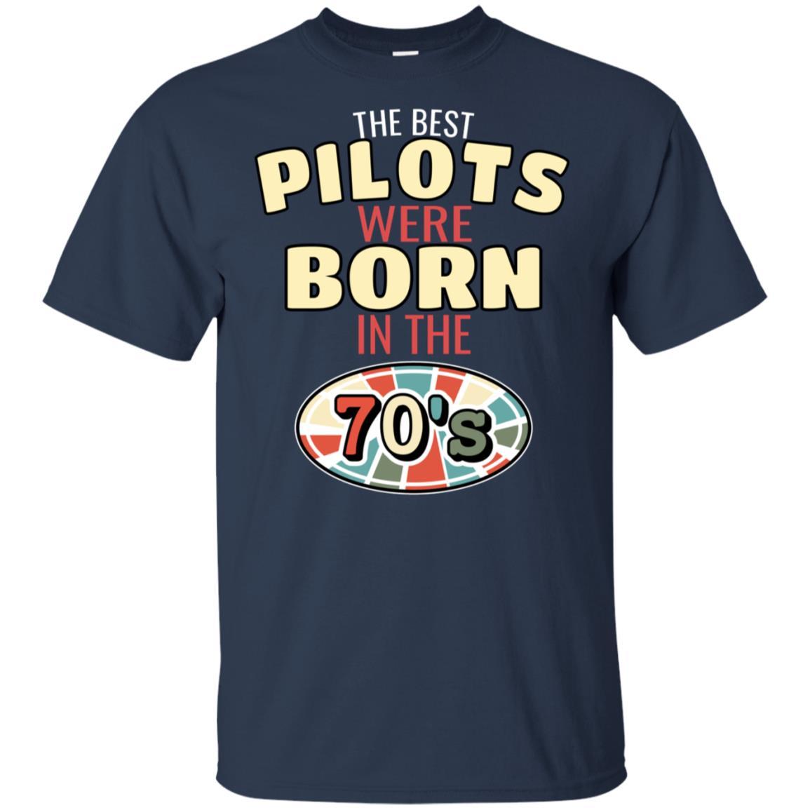 70s Vintage Birthday tee Retro Gift for Pilots Unisex Short Sleeve