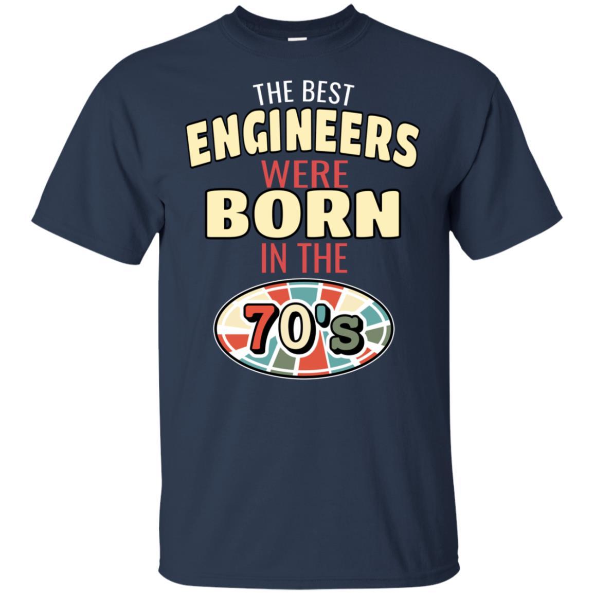 70s Vintage Birthday Gift for Engineer Unisex Short Sleeve