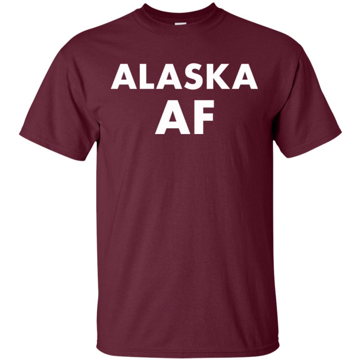 Alaska Af Love Your State Tee Unisex Short Sleeve