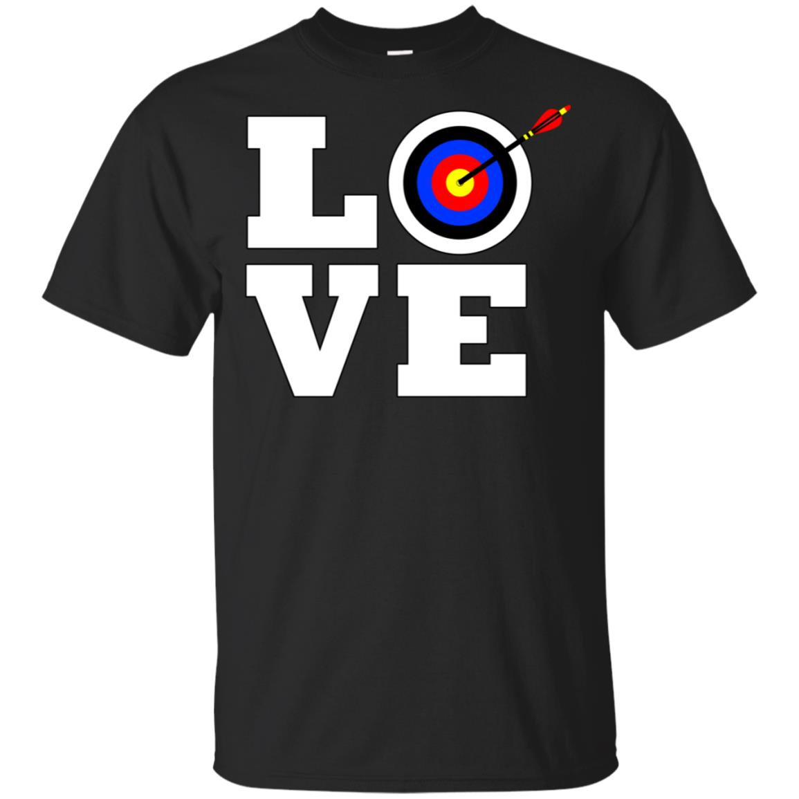 Archery Love for Bow Hunters and Archers Unisex Short Sleeve
