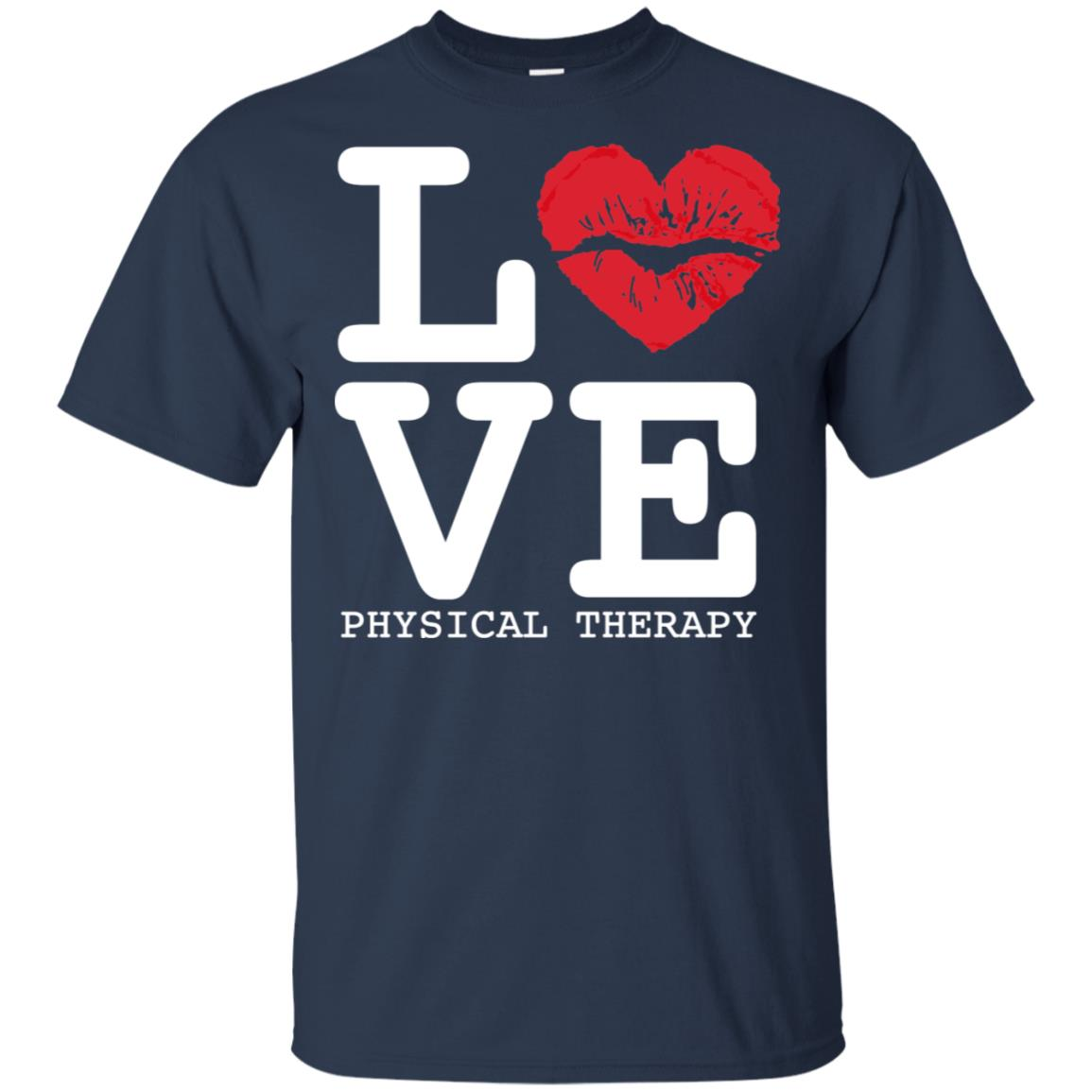 Beautiful Heart I Love Physical Therapy Unisex Short Sleeve