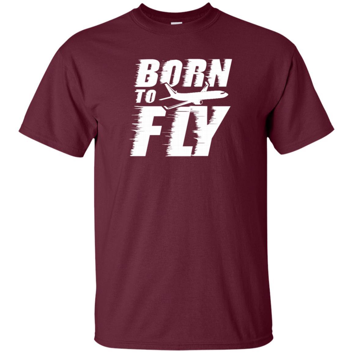Born to Fly Aviation Pilot Love Flying Unisex Short Sleeve