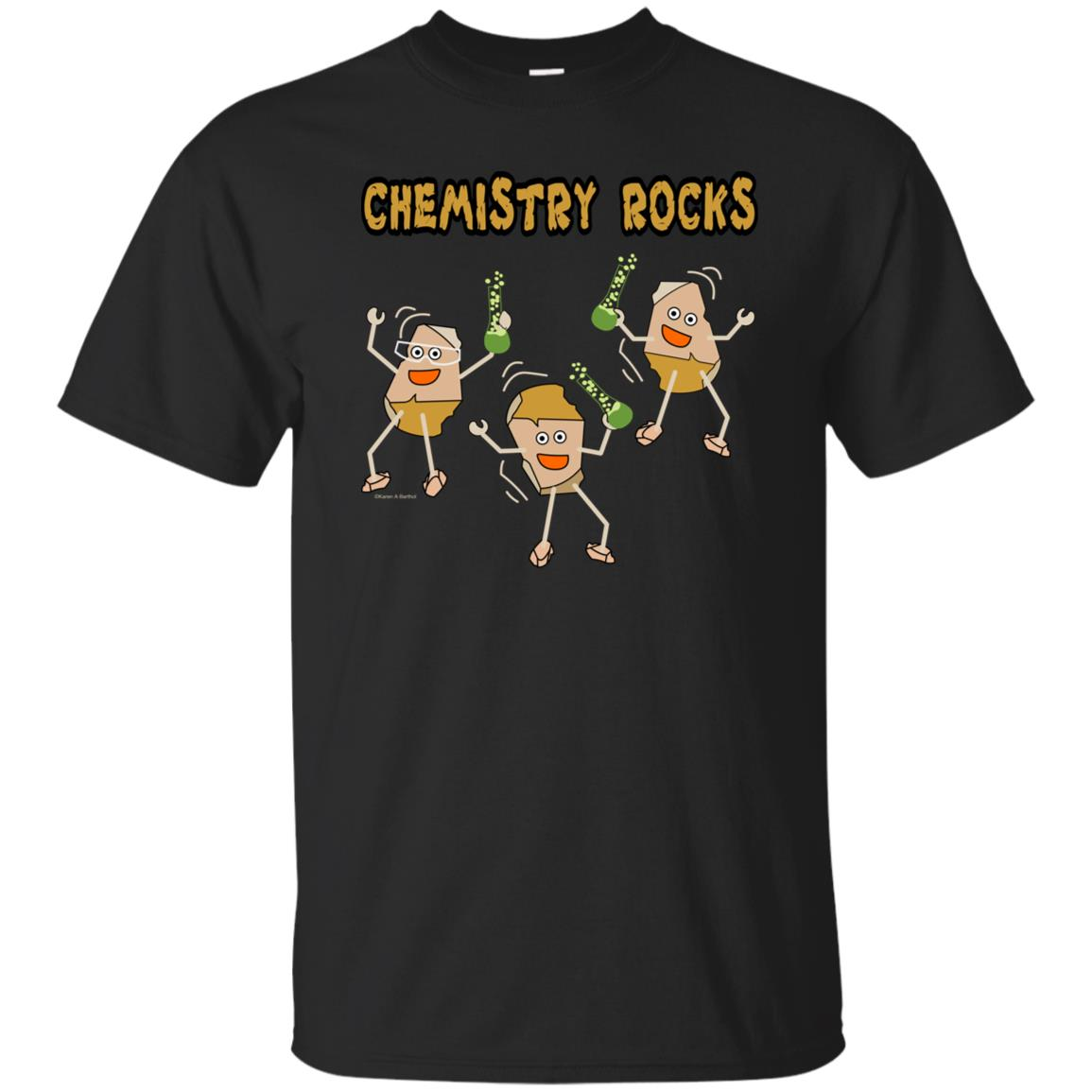 Chemistry Rocks Funny Science Unisex Short Sleeve