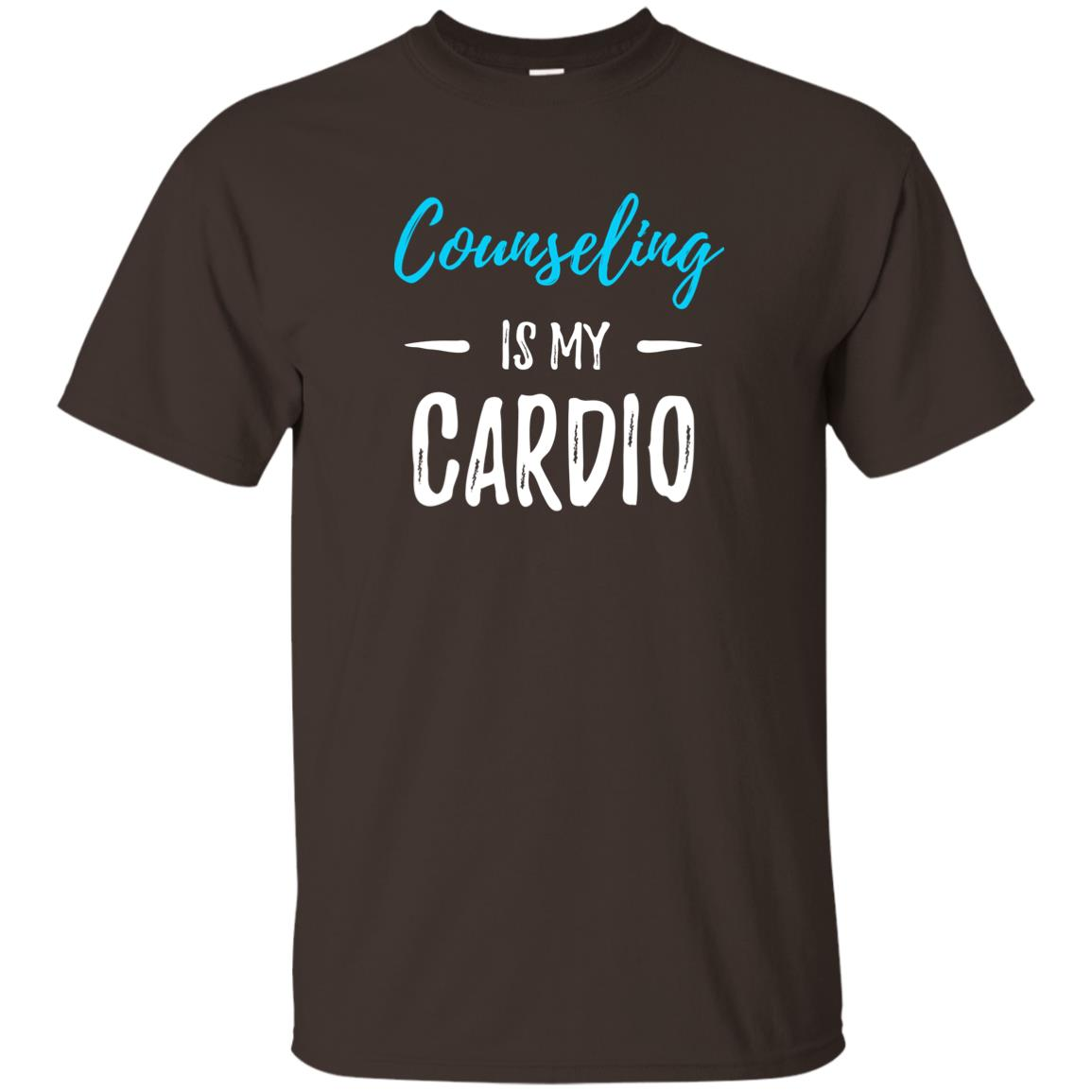 Counseling Cardio Funny Counselor Gift Unisex Short Sleeve