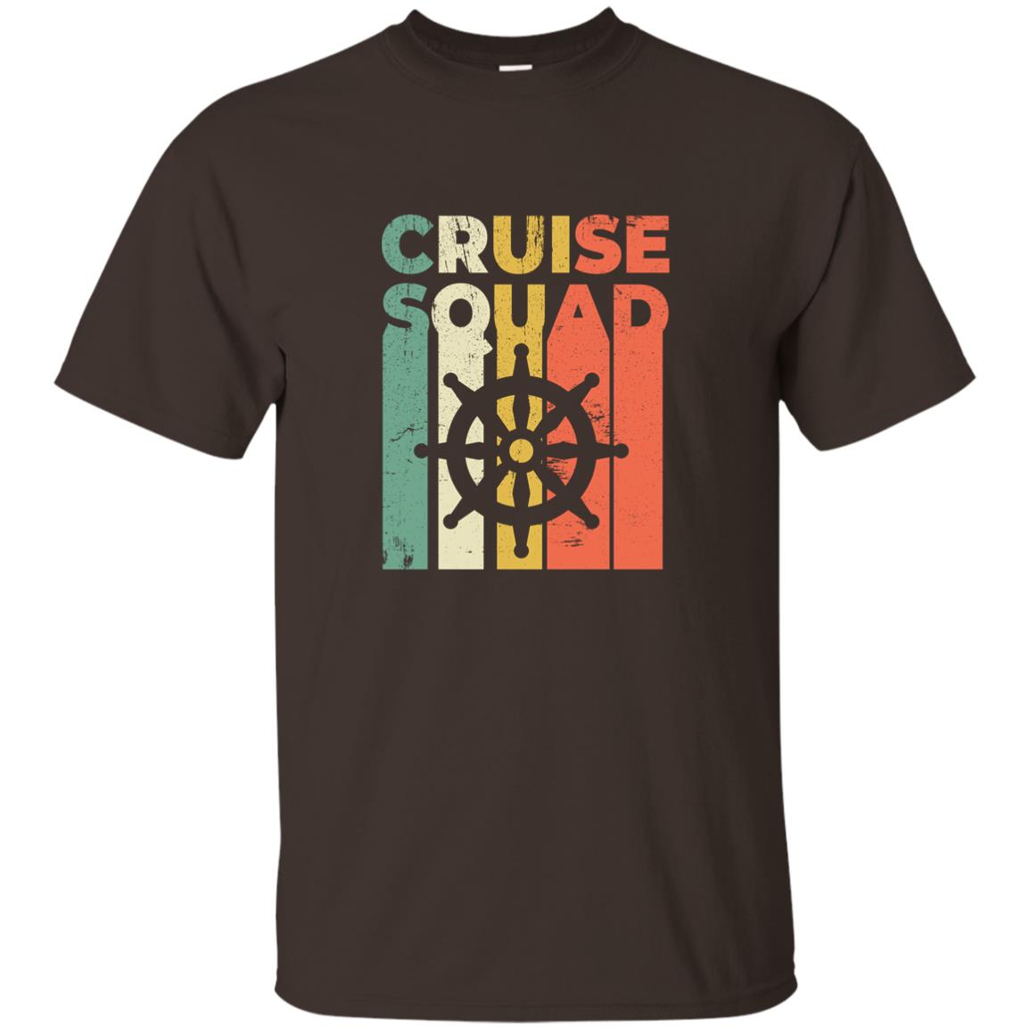 Cruise Funny Family and Group Retro Tees Unisex Short Sleeve