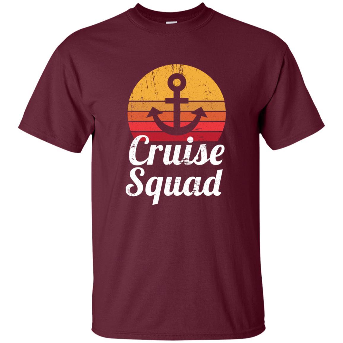 Cruise Funny Family and Group Cruise Squad Unisex Short Sleeve