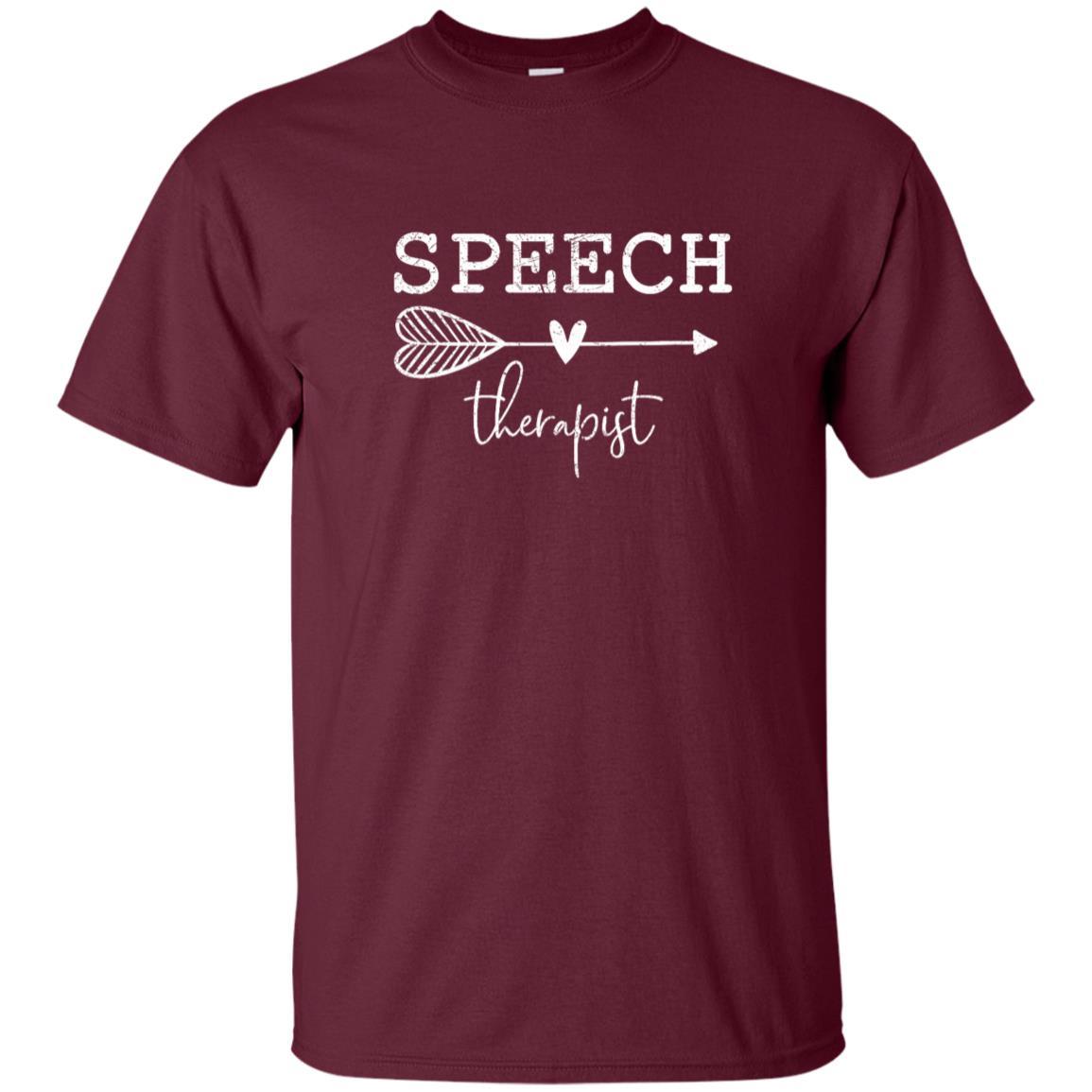 Cute Speech Therapy Language Pathologist Unisex Short Sleeve