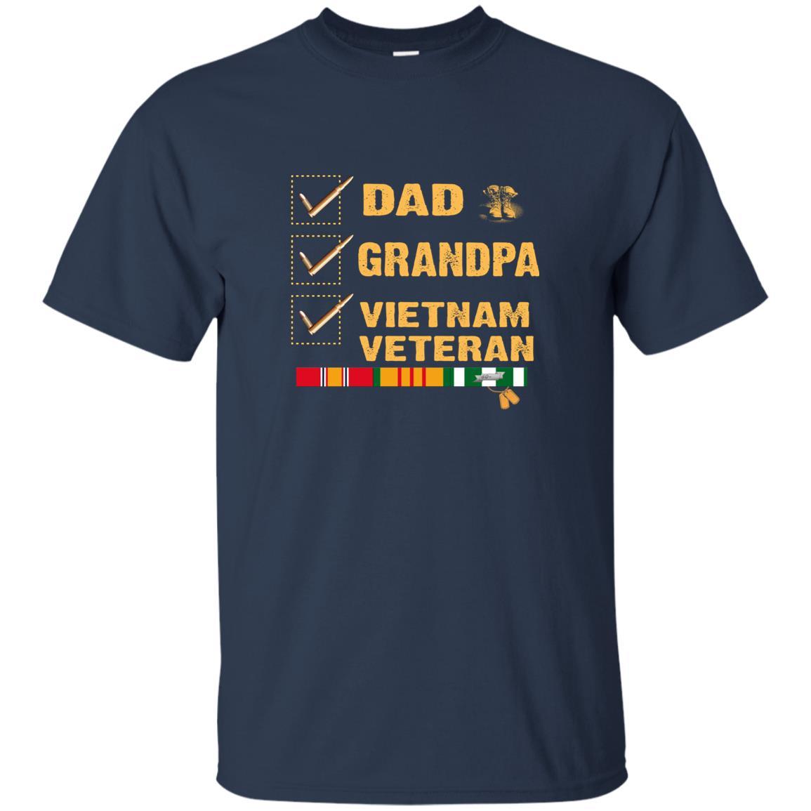 Dad Grandpa Vietnam Veteran Unisex Short Sleeve