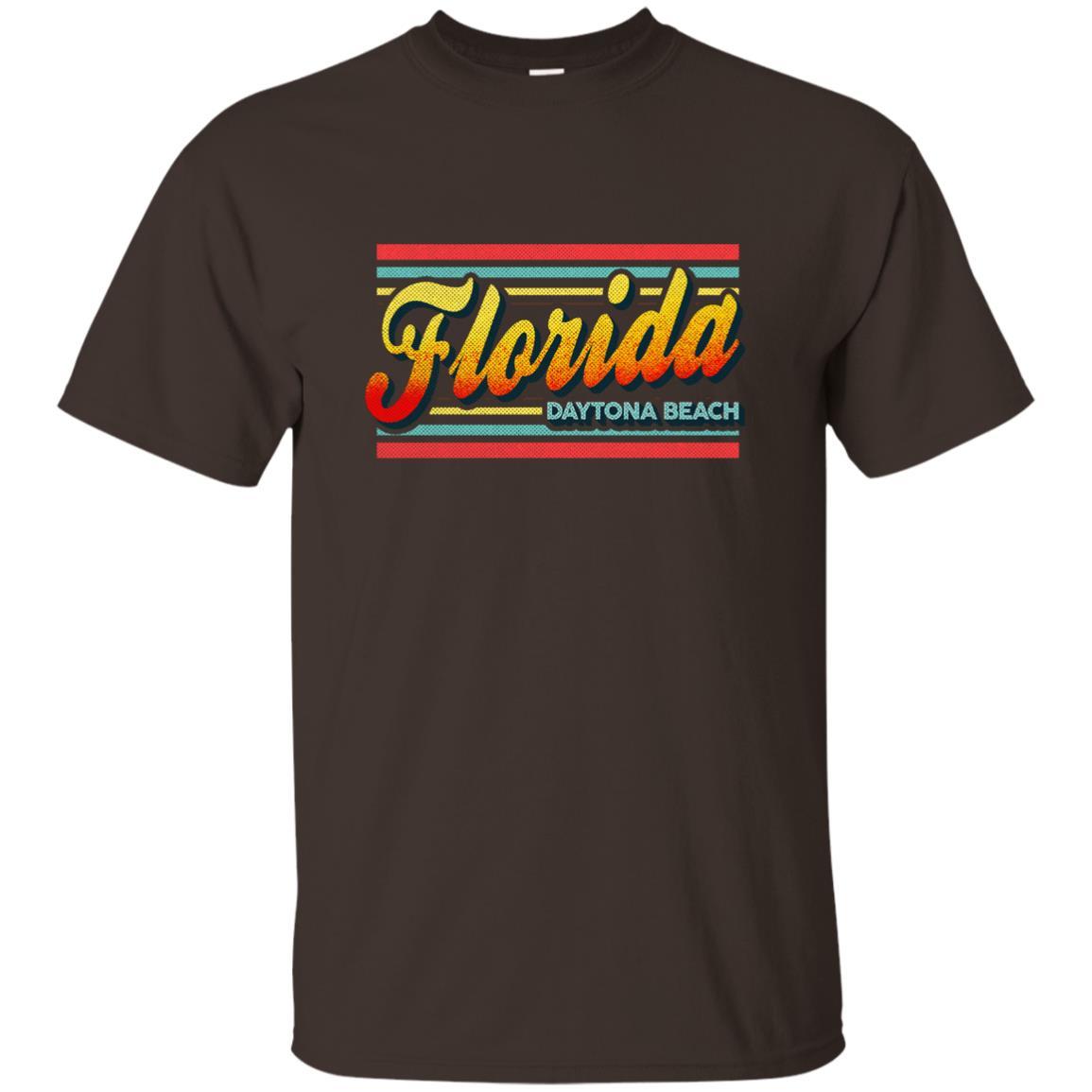 Daytona Beach Florida Retro Vintage 80s Unisex Short Sleeve