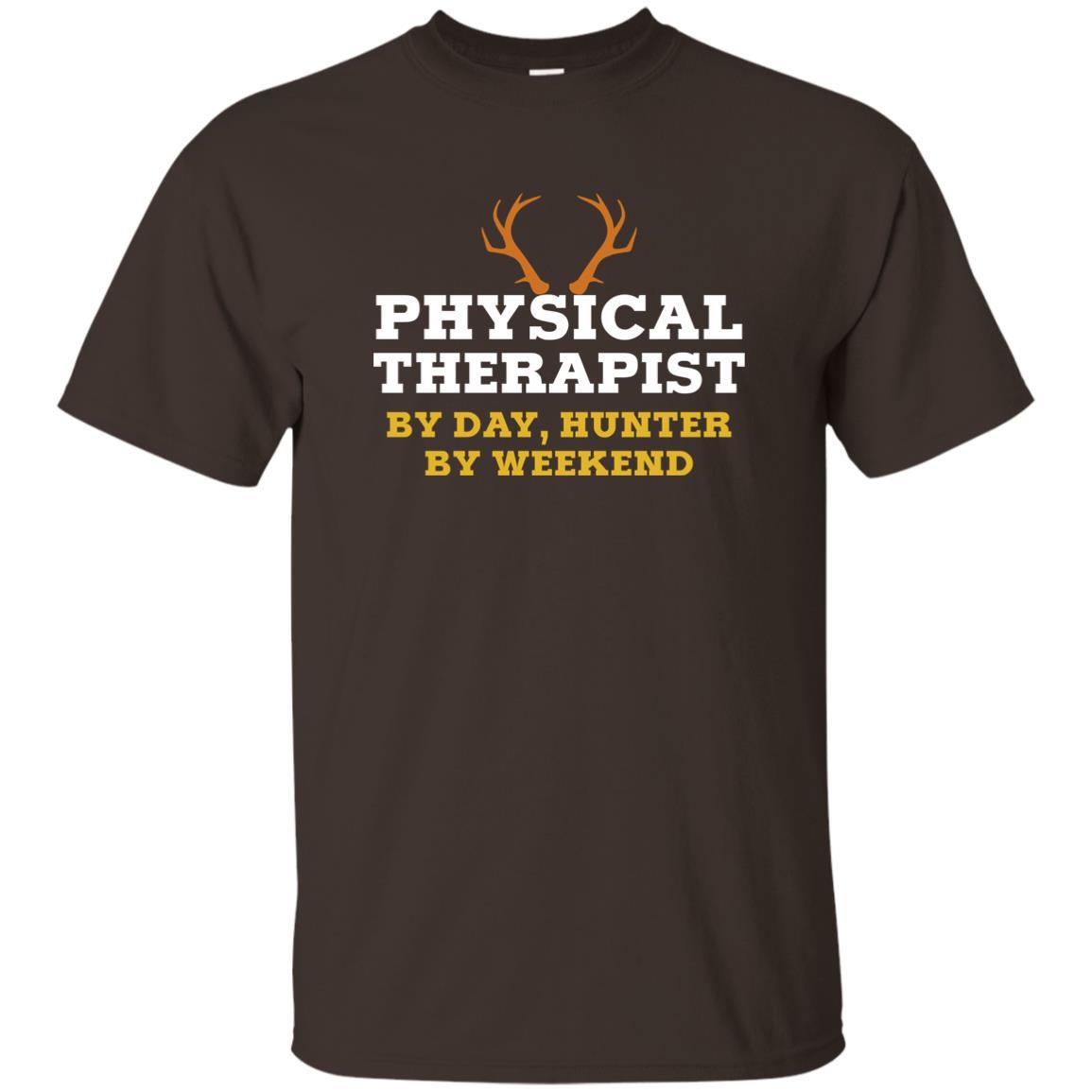 Deer Hunter Physical Therapist Funny Gift Unisex Short Sleeve
