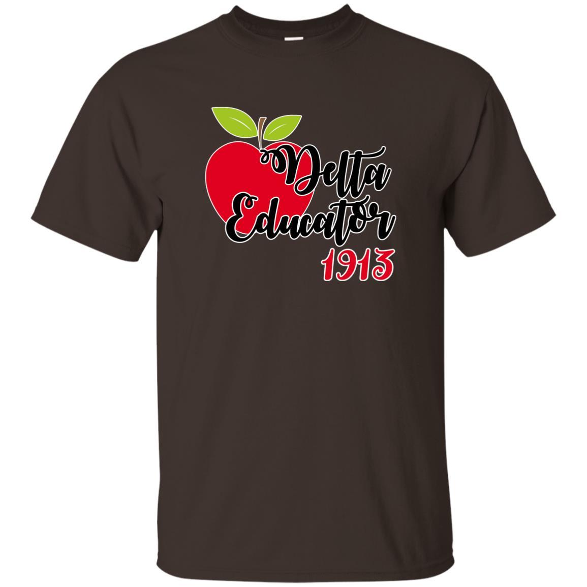 Delta Dst Sigma Theta Teachers Educators Unisex Short Sleeve