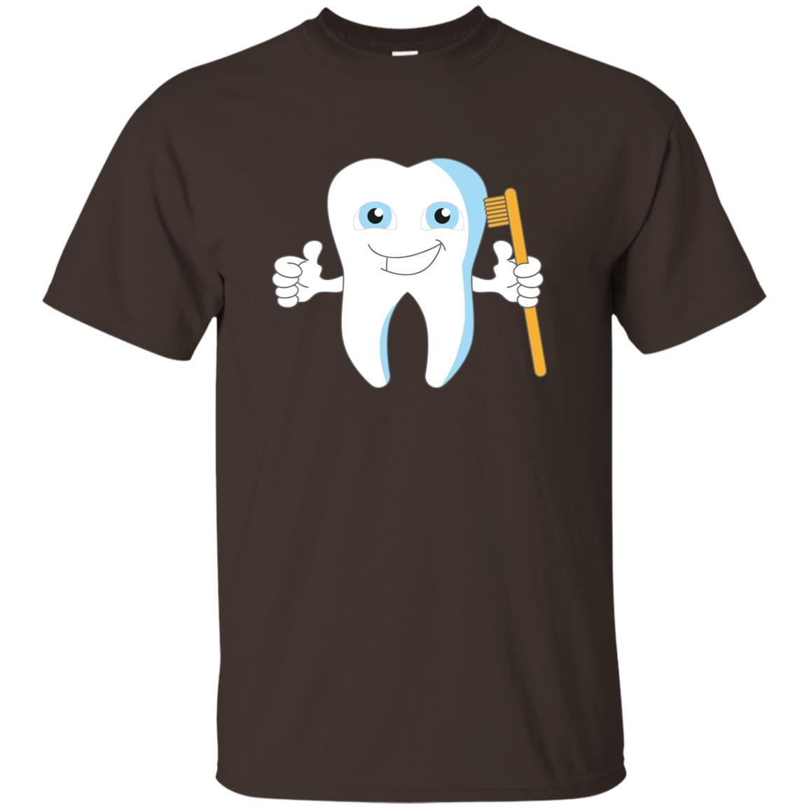 Dental Hygiene Funny Dentist-4 Unisex Short Sleeve