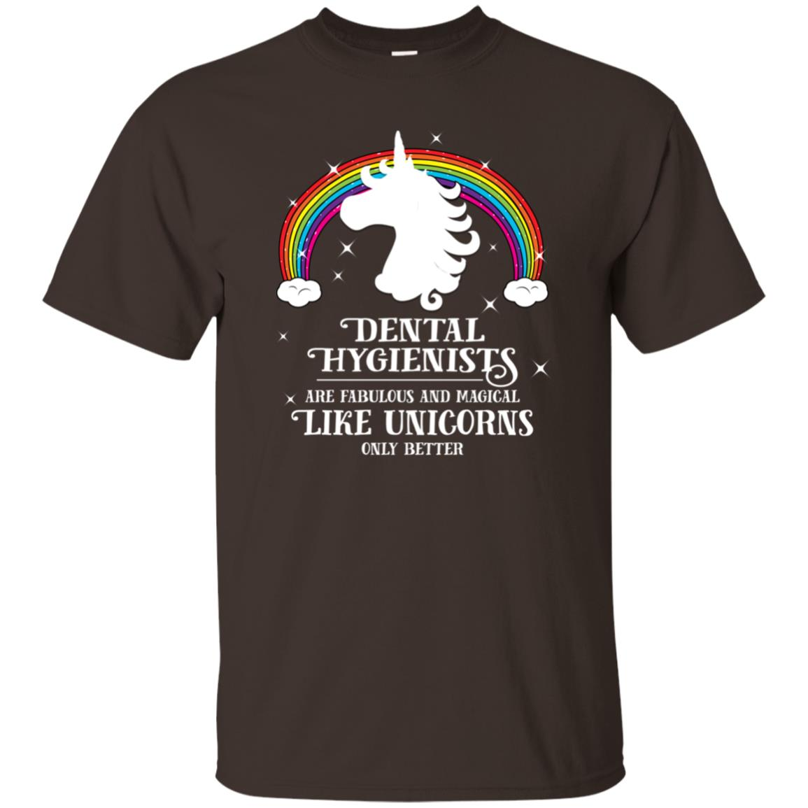 Dental Hygienists Magical Like Unicorns Unisex Short Sleeve