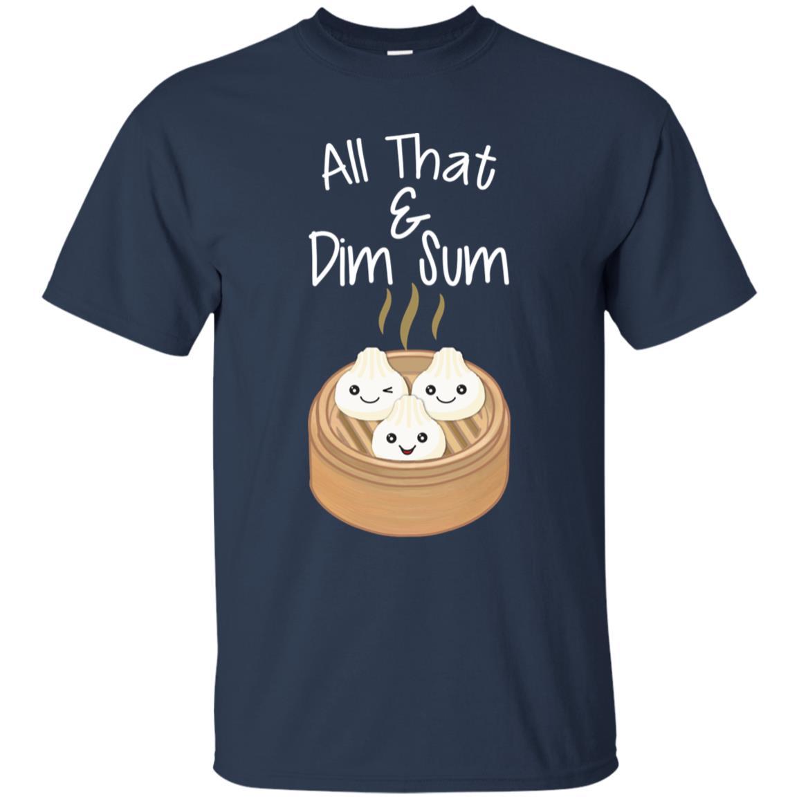 Dim Sum Funny Japanese Food Sushi Pun Unisex Short Sleeve