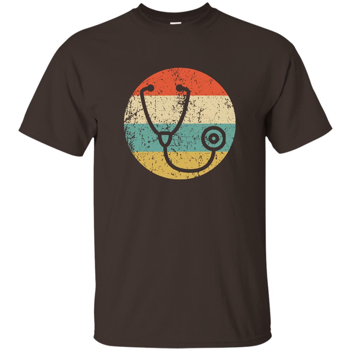 Doctor Nurse – Vintage Retro Stethoscope Unisex Short Sleeve