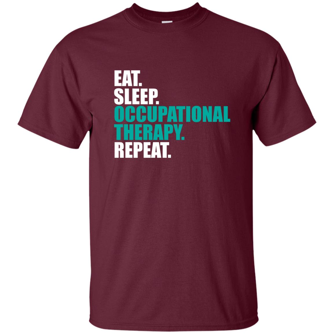Eat Sleep Occupational Therapy Repeat Unisex Short Sleeve