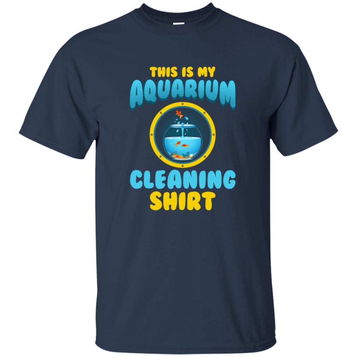 Fish Tank Cleaning – Funny Aquarium Unisex Short Sleeve