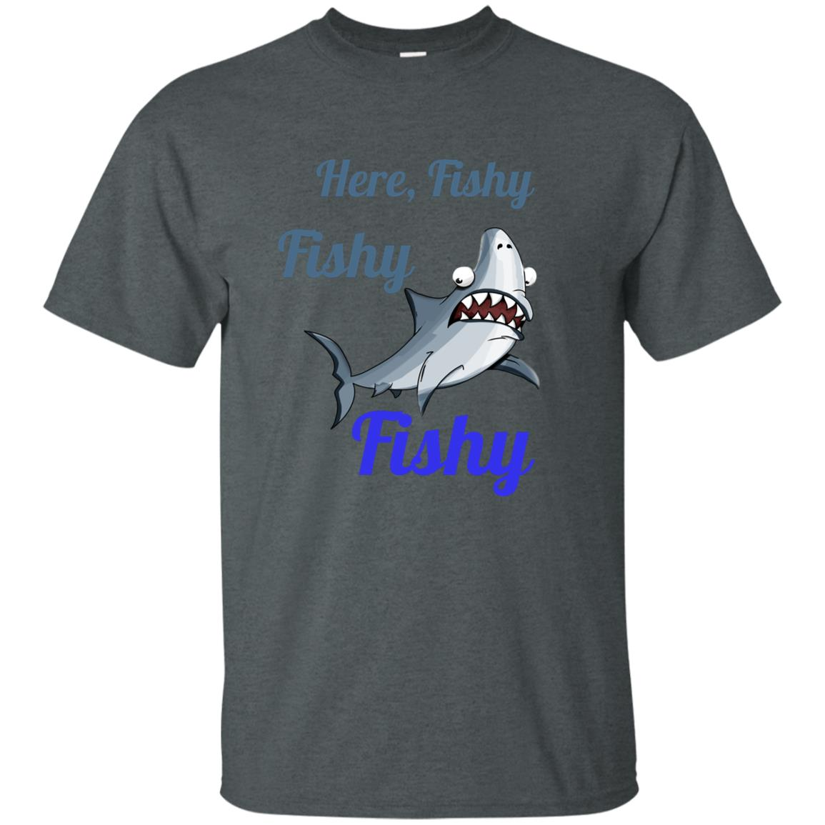 Fishing, funny and cute Unisex Short Sleeve