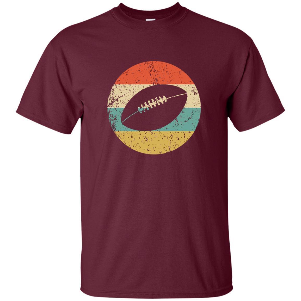 Football – Vintage Retro Football Unisex Short Sleeve