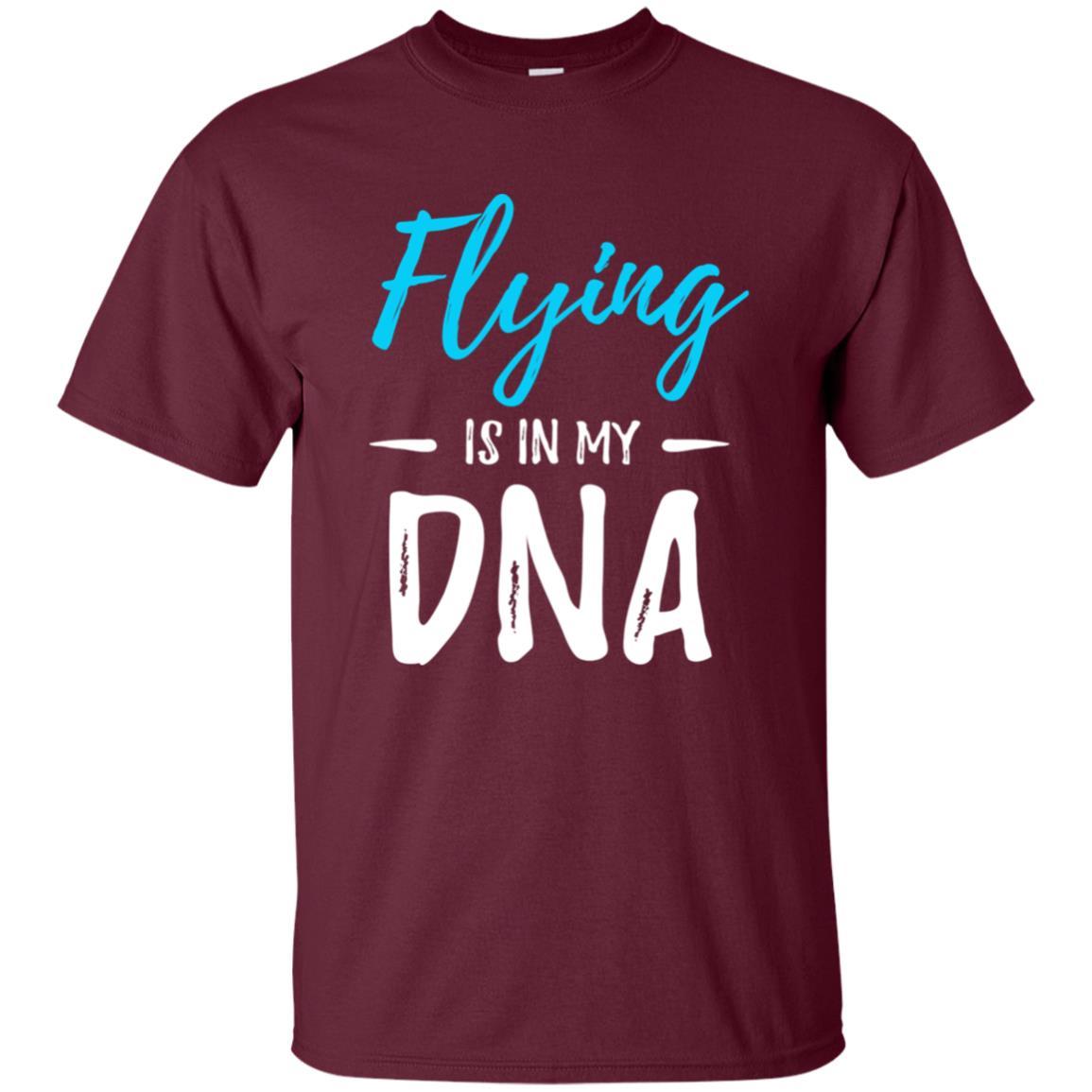 Flying Dna Funny Pilot Gift Unisex Short Sleeve