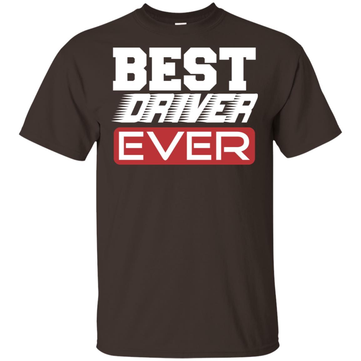 Fun Best Driver Ever Cars Bus Trucker Unisex Short Sleeve