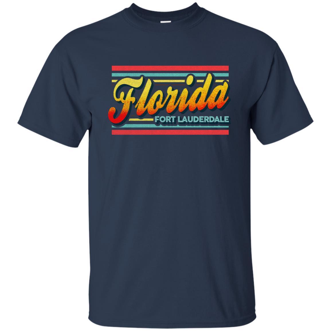 Fort Lauderdale Florida Retro Vintage 80s Unisex Short Sleeve