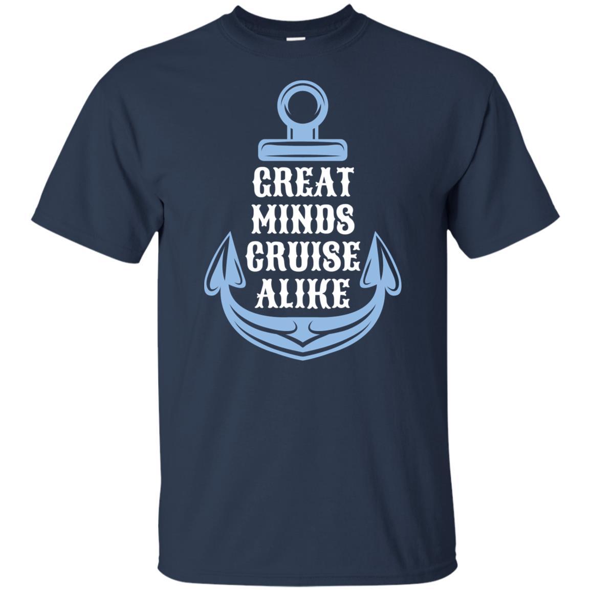 Great Minds Cruise Alike Cruise Unisex Short Sleeve