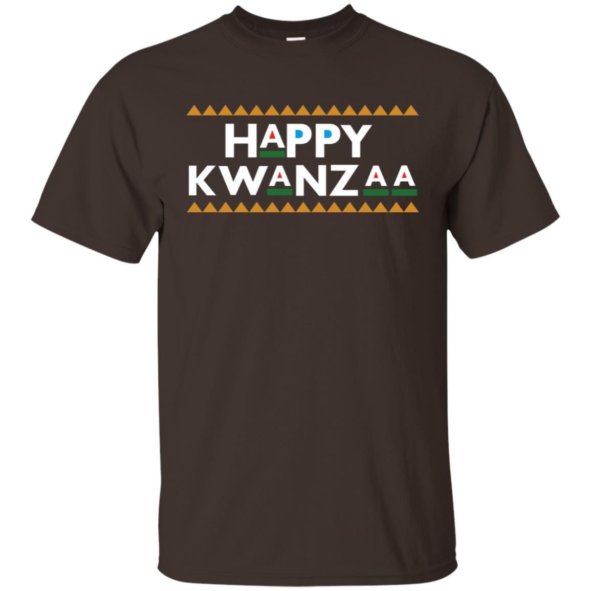 Happy Kwanzaa Retro 90s Font Unisex Short Sleeve