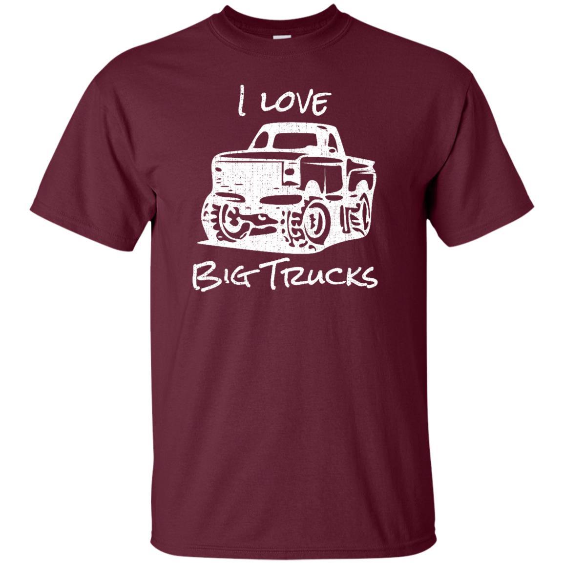 I Love Big Trucks Stomp races crush trucker Unisex Short Sleeve