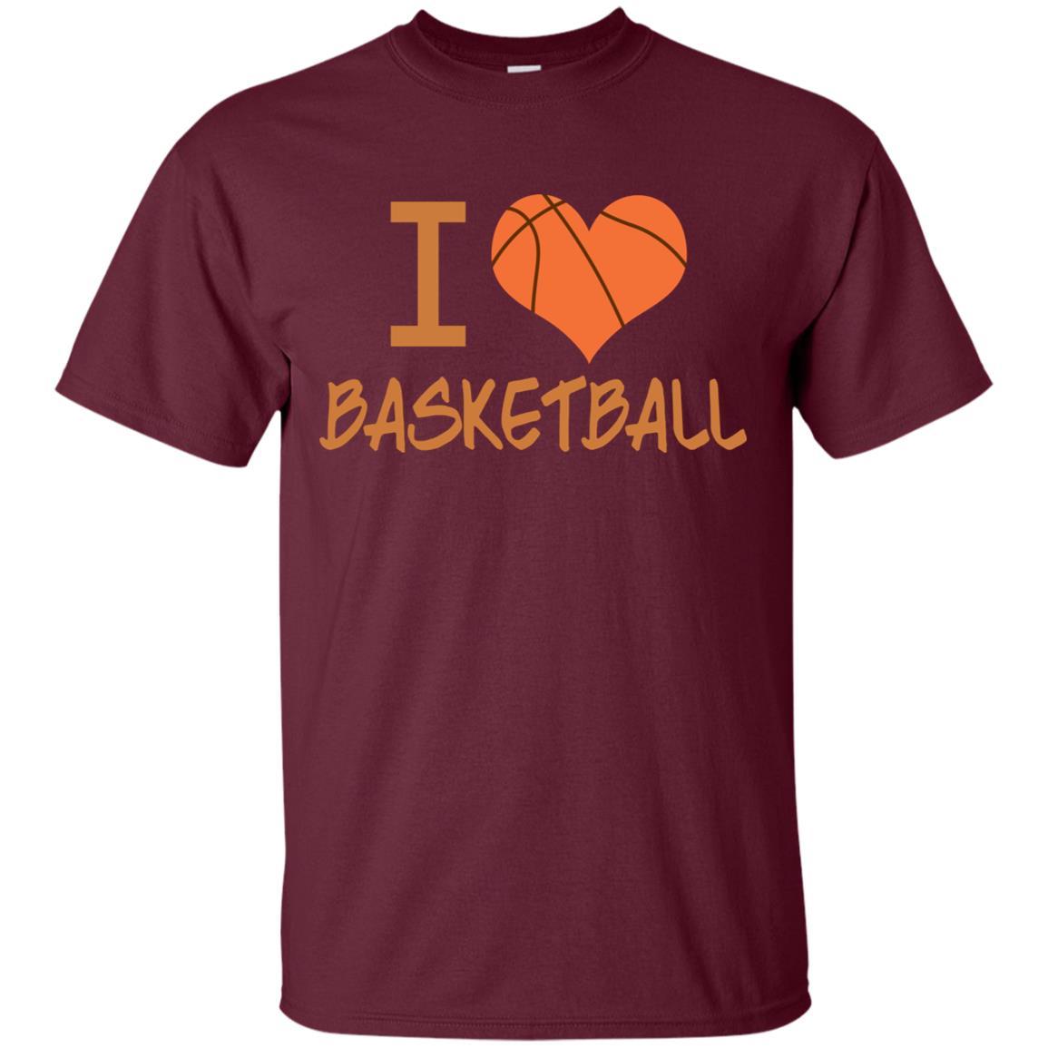 I Love Basketball Unisex Short Sleeve
