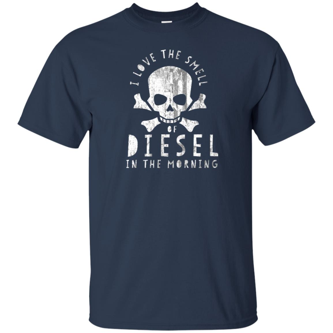 I Love the Smell of Diesel in the Morning-1 Unisex Short Sleeve