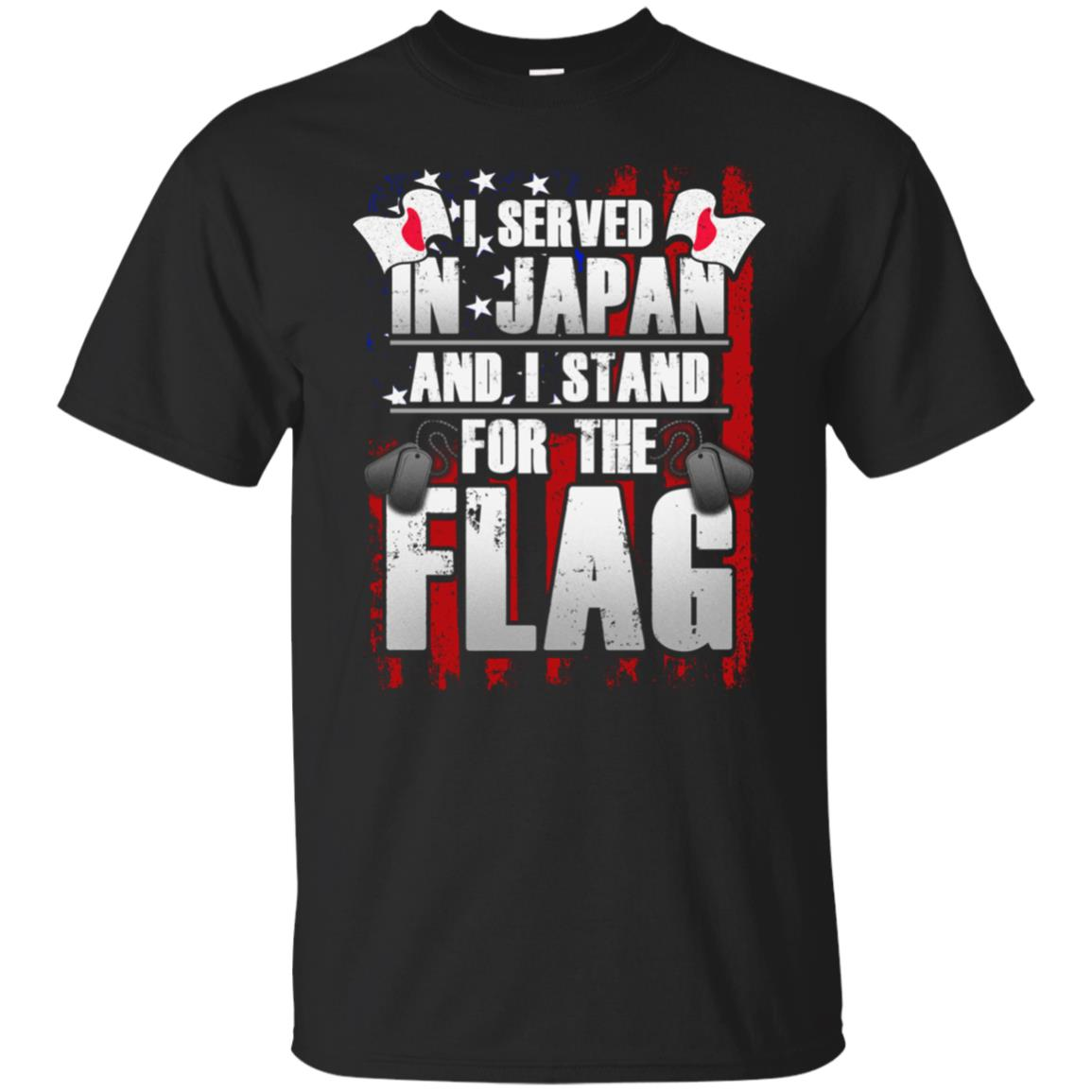 Japan Military Veteran Flag Gift Unisex Short Sleeve