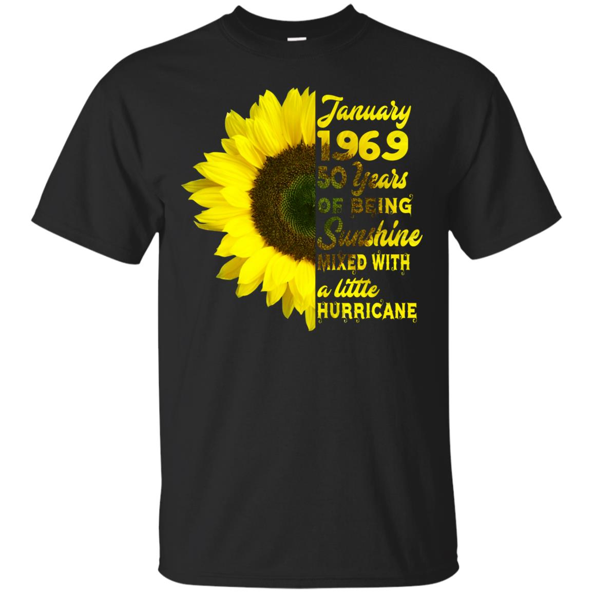 January 1969 50 years birthdays for women xmas gift Unisex Short Sleeve
