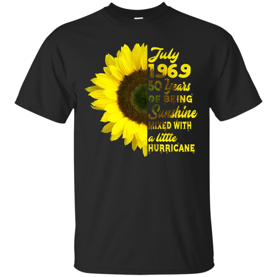 July 1969 50 years birthdays for women xmas gift Unisex Short Sleeve