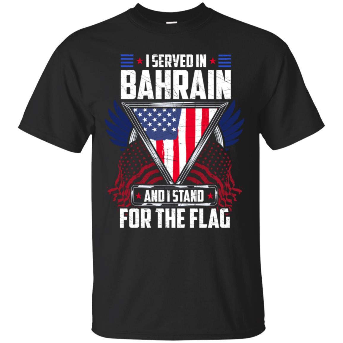 Military Veteran Bahrain Awesome Flag Gift Unisex Short Sleeve