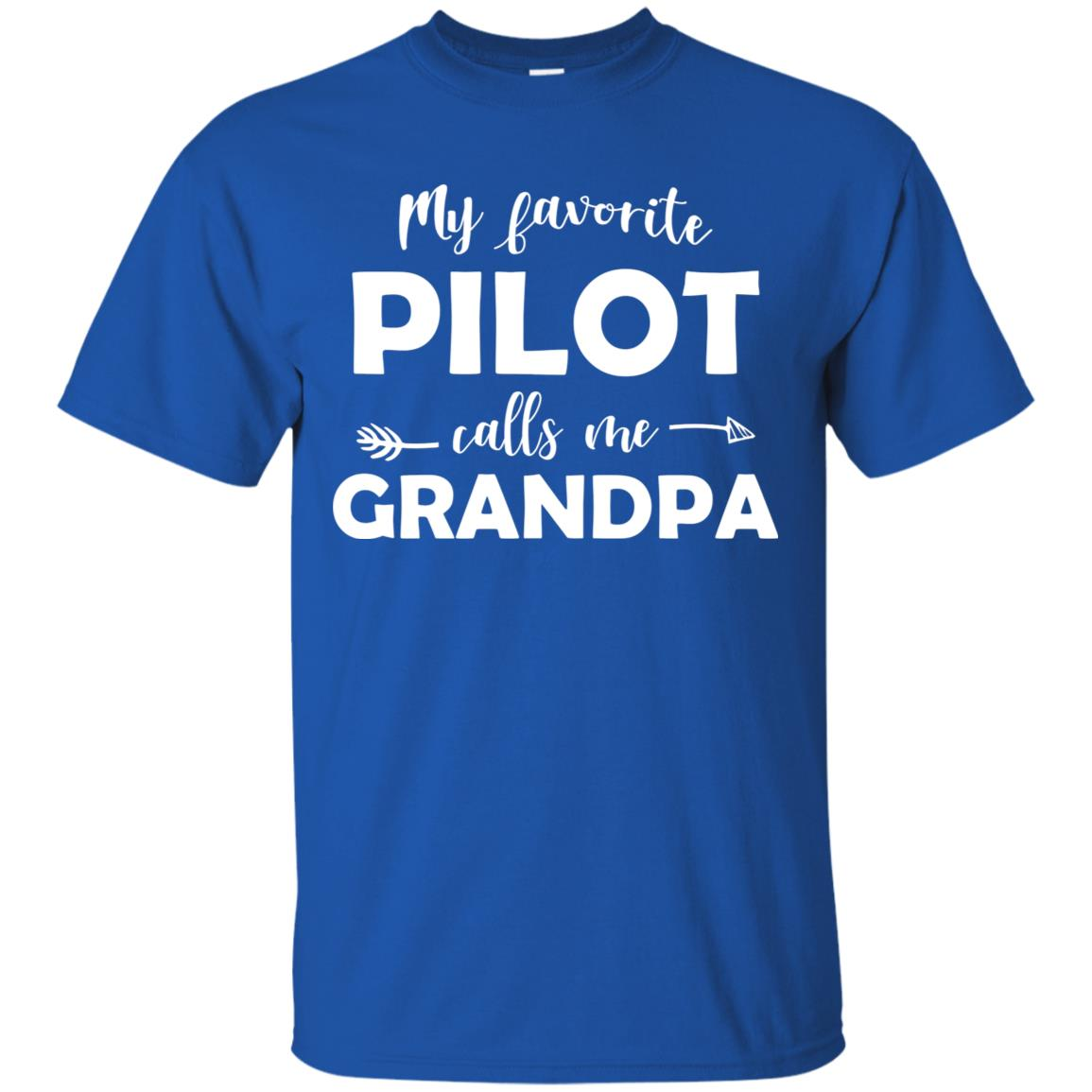 My Favorite Pilot Calls Me Grandpa Funny Unisex Short Sleeve