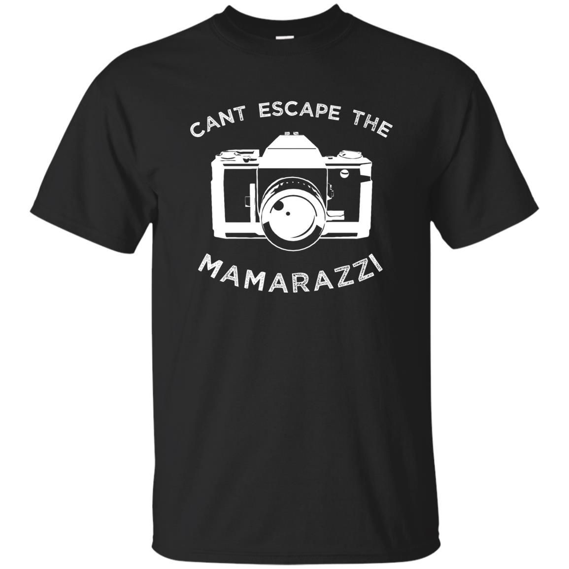 Funny Camera Cant Escape The Mamarazzi Unisex Short Sleeve