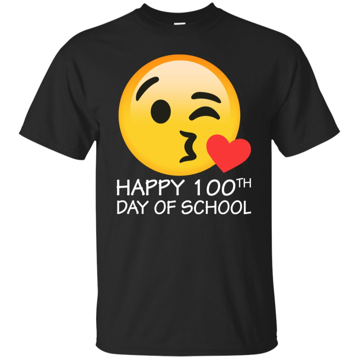 Happy 100th Day Of School Counting Hash Marks 100 Youth Short Sleeve