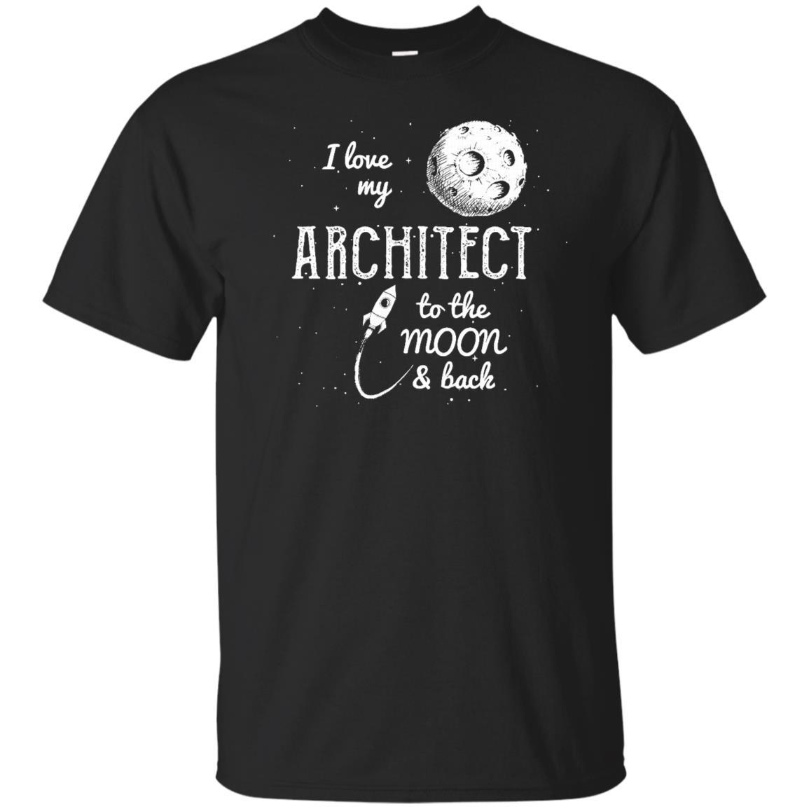 I Love My Architect Unisex Short Sleeve