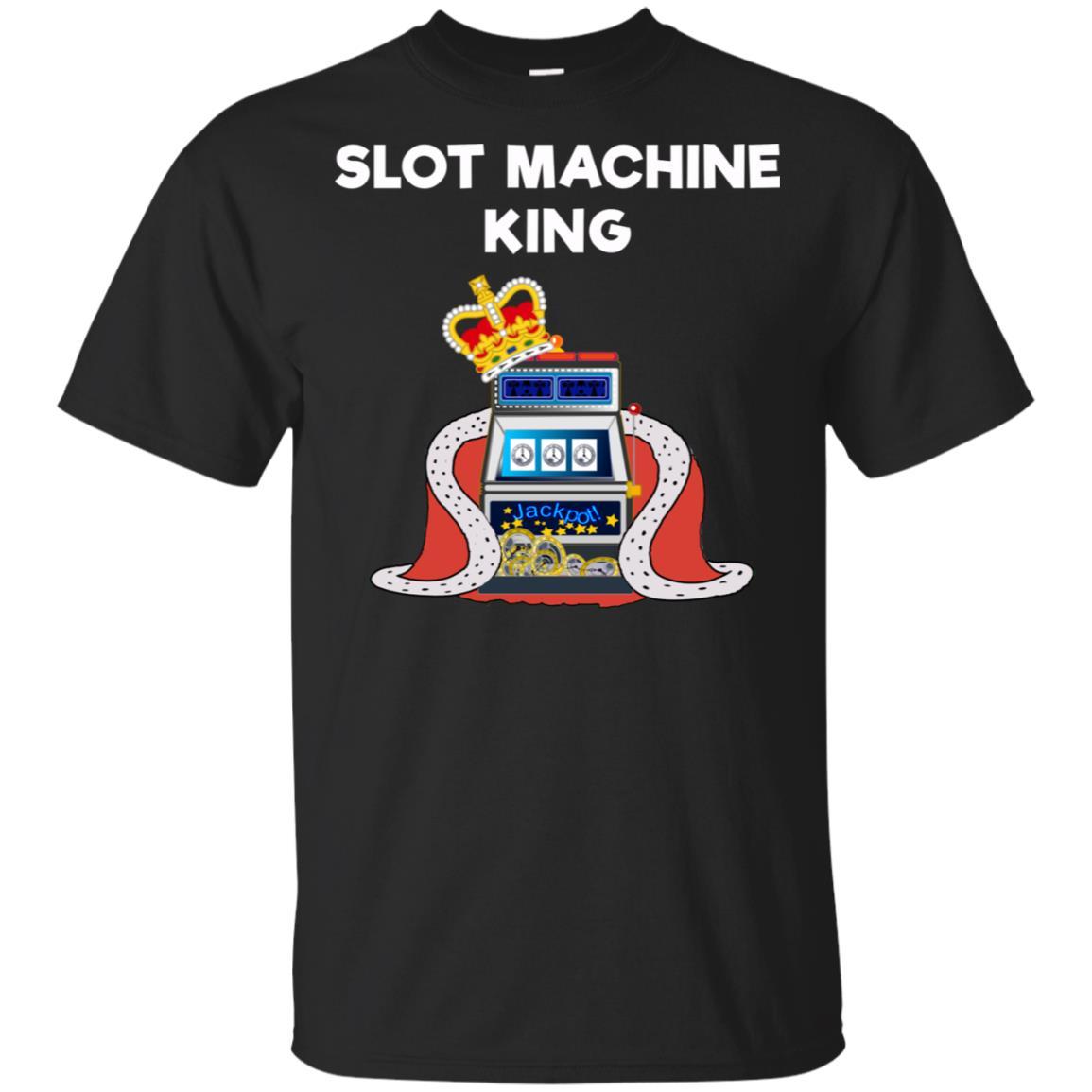 Slot Machine – Funny Casino Gambling King Unisex Short Sleeve