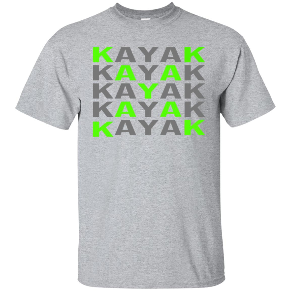 Kayak Classic for the Outdoor Whitewater river adventurer Unisex Short Sleeve