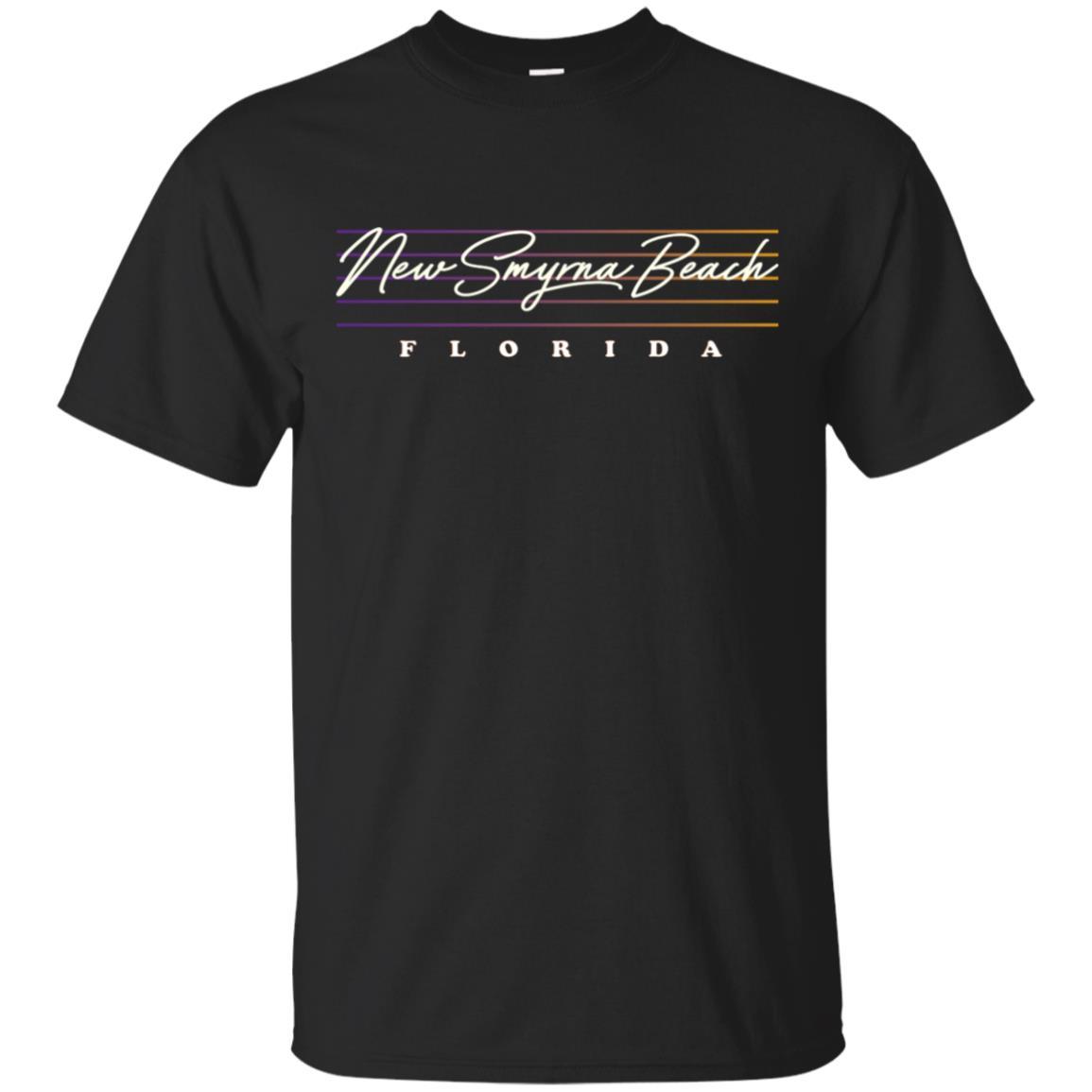 New Smyrna Beach Retro Style Unisex Short Sleeve